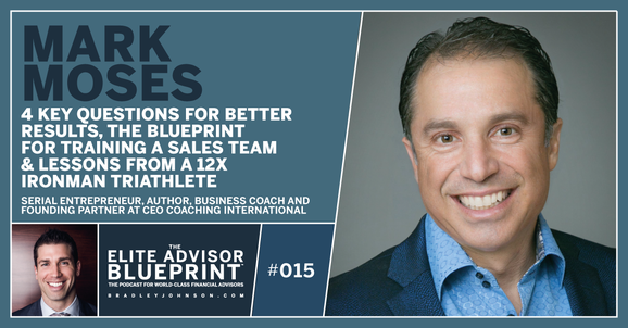 015: Mark Moses on 4 Key Questions for Better Results, The Blueprint for Training a Sales Team & Lessons From a 12x Ironman Triathlete