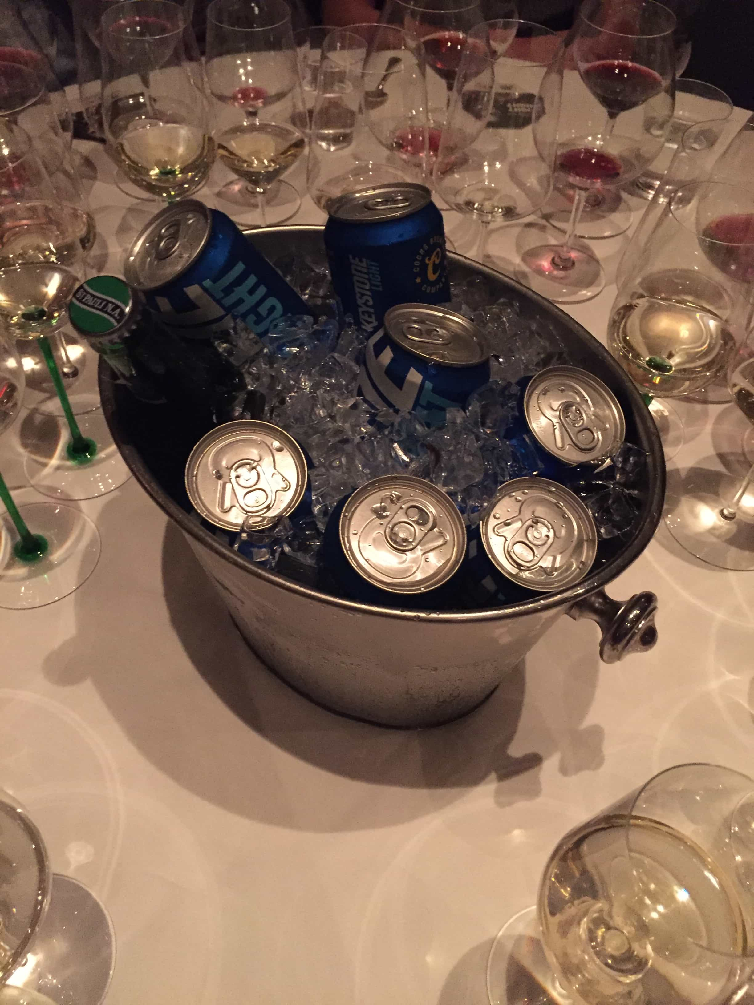 Keystone Light On Ice - The French Laundry