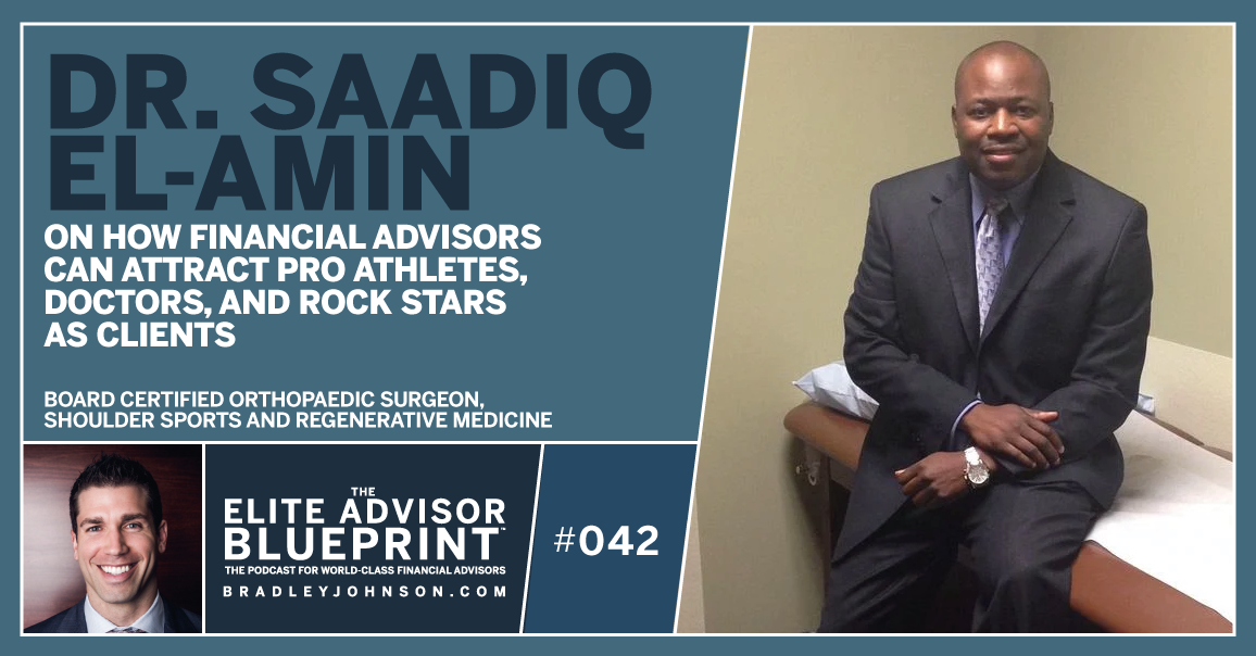 Dr. Saadiq El-Amin - Elite Advisor Blueprint